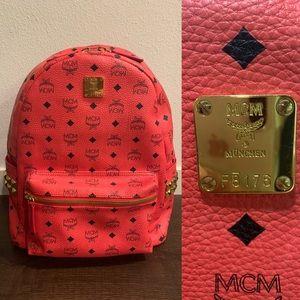 MCM Large backpack - HOT PINK